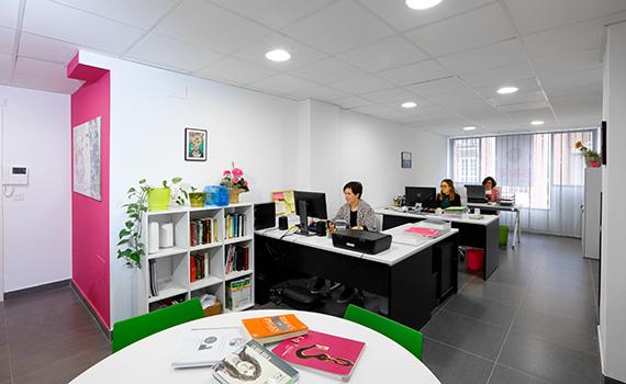 Oficina de Sare Translations en el centro de Eibar